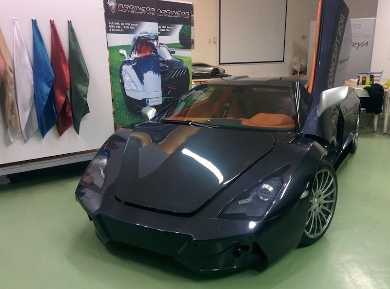 Przeglądasz obrazki do artykułu: Super samochód z Polski