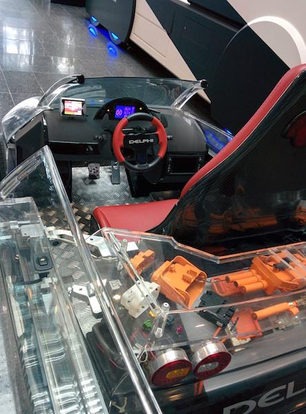 Przeglądasz obrazki do artykułu: Prototypowy pojazd elektryczny