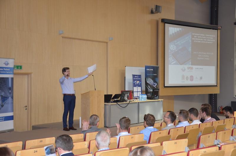Przeglądasz obrazki do artykułu: International Conference on Applying Systems Engineering for Embedded Systems Development